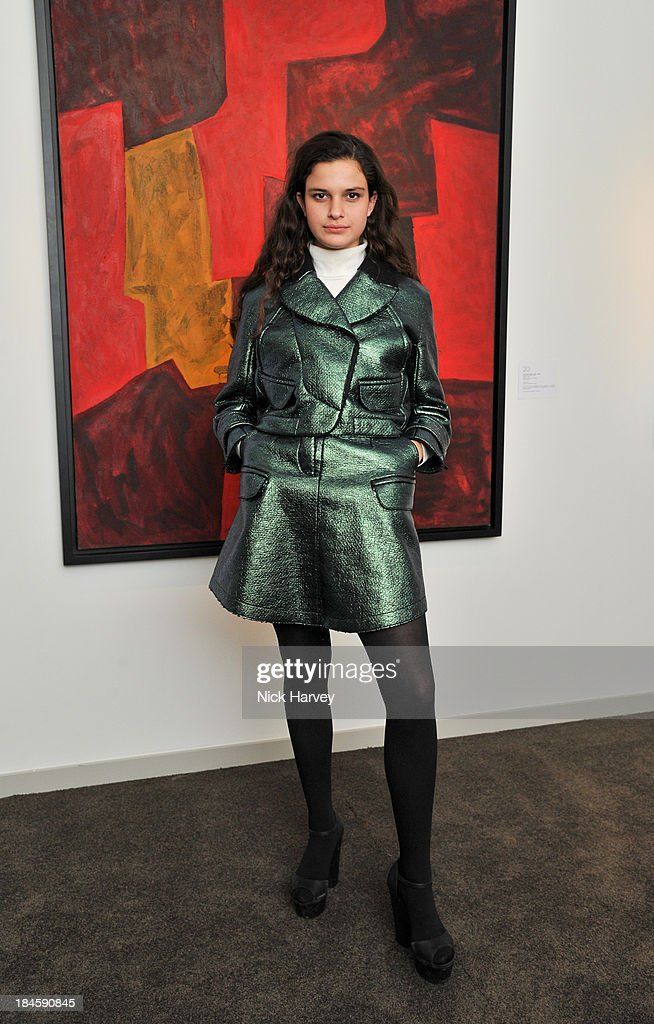 Evangeline Ling attends the collectors preview for PAD London at Berkeley Square Gardens on October 14, 2013 in London, England.