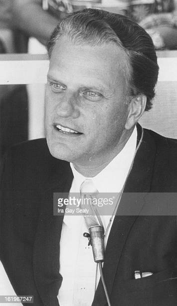 AUG 1965 921966 MAY 24 1969 JUN 1 1969 Evangelist Billy Graham is a guest on Rowan and Martin's LaughIn at 9pm Monday on Channel 4 The show was...
