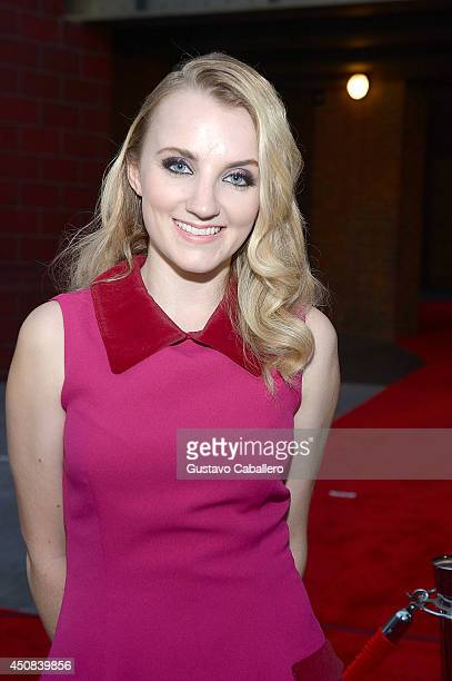 Evanna Lynch attends The Wizarding World of Harry Potter Diagon Alley Grand Openingat Universal Orlando on June 18 2014 in Orlando Florida