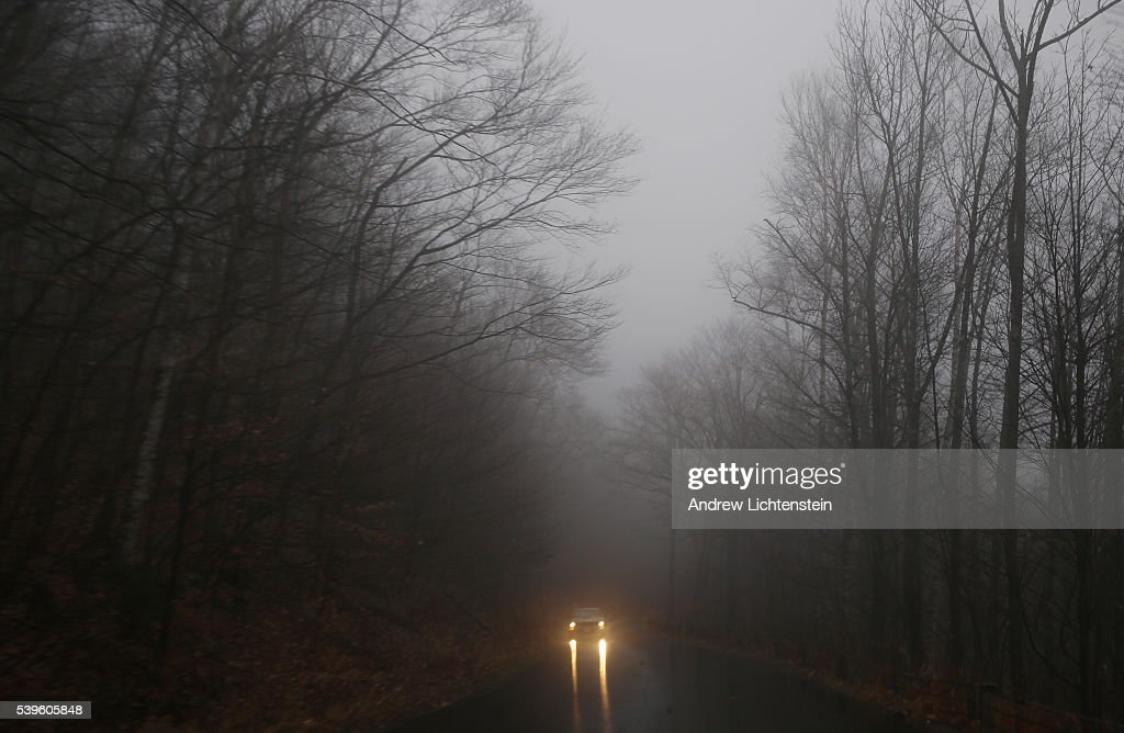 Evan's Notch is a mountain pass that sits in the White Mountain National Forest along the MaineNew Hampshire border and is closed in the winter
