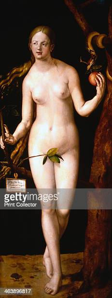 'Eve' 1507 Adam and Eve were the first man and woman created by God according to the Bible From the Prado Museum Madrid
