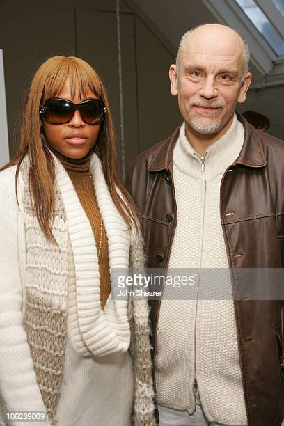 Eve and John Malkovich during 2006 Park City Moto on Main Day 4 at 515 Main Street in Park City Utah