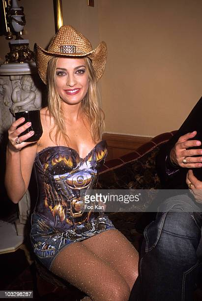Eve Angeli attends the M6 Music Party at the Ritz Club on December 10 2007 in Paris France