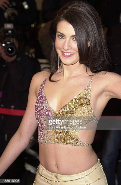 Eve Angeli during NRJ Music Awards 2002 Arrivals at Palais des Festivals in Cannes France