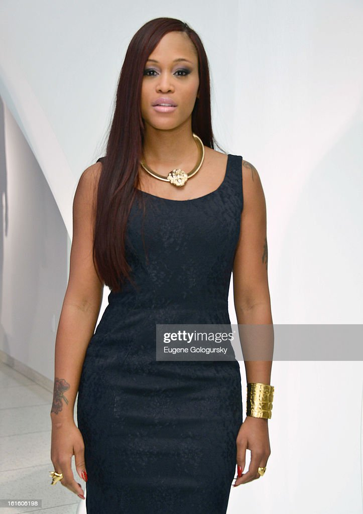 Eve attends Elie Tahari during Fall 2013 Mercedes-Benz Fashion Week on February 12, 2013 in New York City.