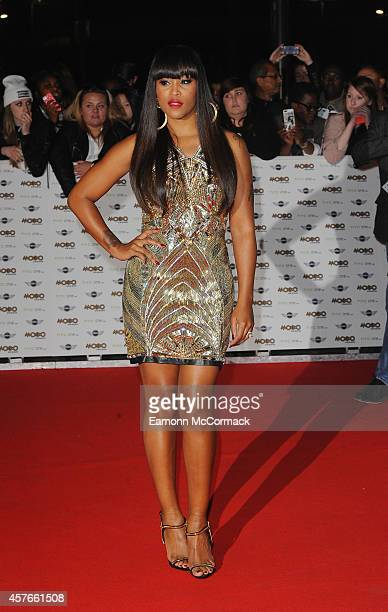 Eve attends the MOBO Awards at SSE Arena on October 22 2014 in London England