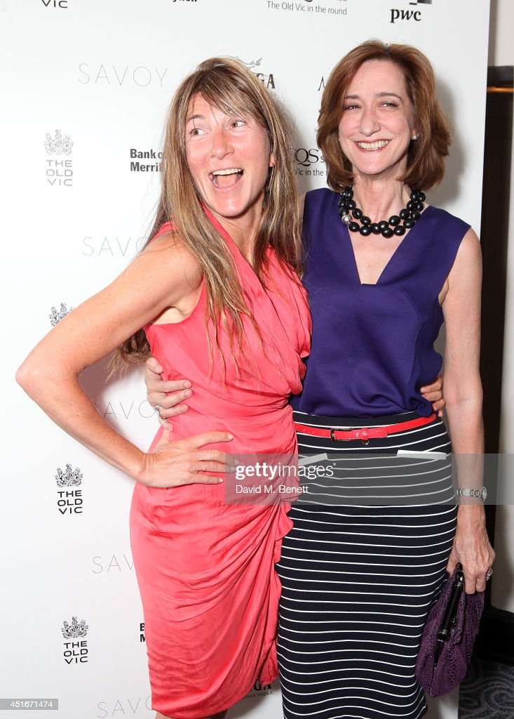 Eve Best and Haydn Gwynne attend an after party following the press night performance of 'The Crucible' at The Savoy Hotel on July 3 2014 in London...