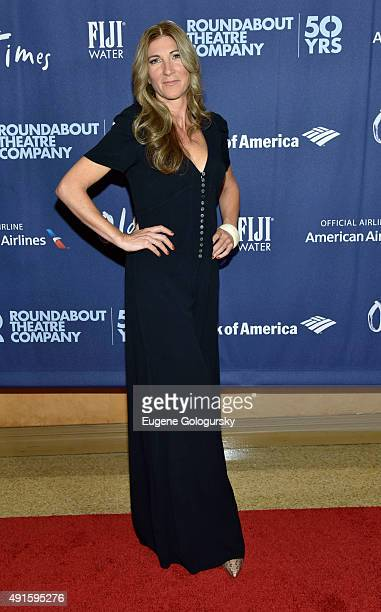 Eve Best attend the The Roundabout Theatre Company's Broadway Opening Night Of Old Times CoSponsored By FIJI Water at Roundabout Theatre Company's...