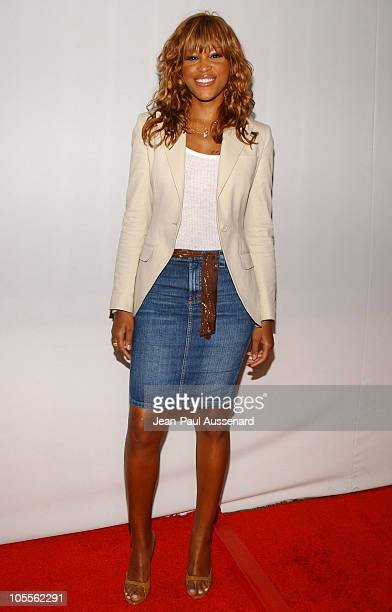 Eve during CBS and UPN 2005 TCA Party Arrivals at Quixote Studios in Los Angeles California United States