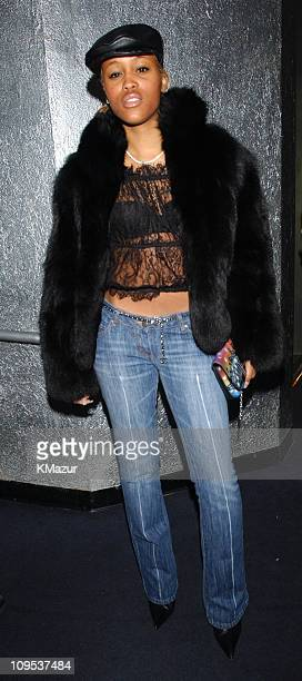 Eve during Faith Evans album release party for her new CD 'Faithfully' at Saci Club in New York City New York United States