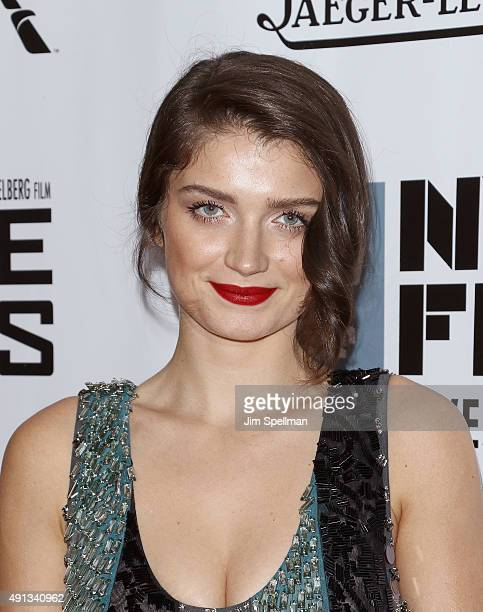 Eve Hewson attends the 53rd New York Film Festival premiere of 'Bridge Of Spies' at Alice Tully Hall Lincoln Center on October 4 2015 in New York City