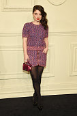 Eve Hewson attends the CHANEL ParisSalzburg 2014/15 Metiers d'Art Collection at Park Avenue Armory on March 31 2015 in New York City