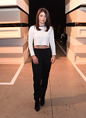 Eve Hewson attends the Edun show during MercedesBenz Fashion Week Fall 2015 at Skylight Modern on February 15 2015 in New York City