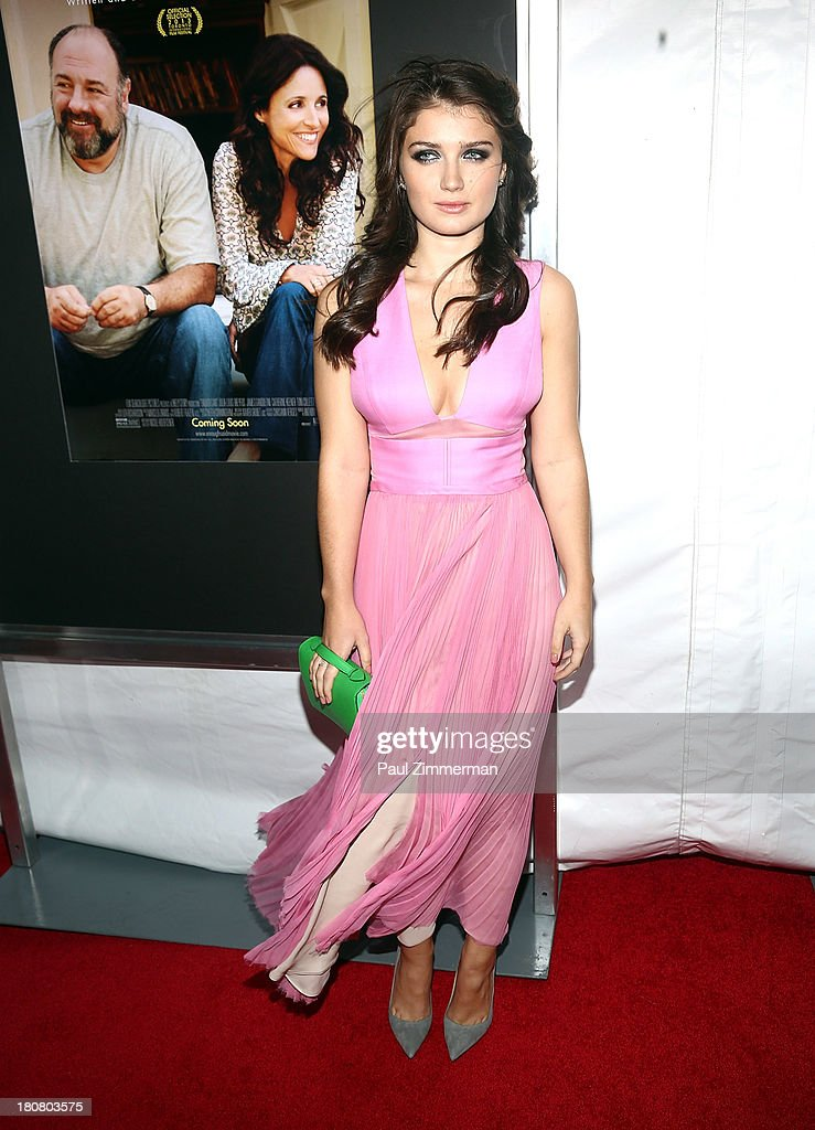 Eve Hewson attends the 'Enough Said' New York Screening at Paris Theater on September 16, 2013 in New York City.