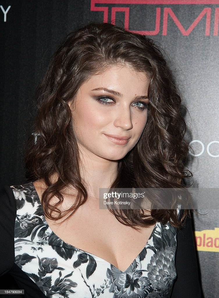 Eve Hewson attends The Weinstein Company With The Cinema Society And Tumi Host A Screening Of 'This Must Be the Place' at Tribeca Grand Hotel on October 25, 2012 in New York City.