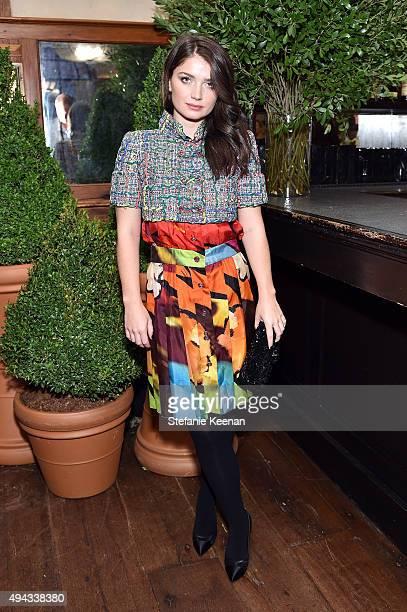 Eve Hewson attends Through Her Lens The Tribeca Chanel Women's Filmmaker Program luncheon at Locanda Verde on October 26 2015 in New York City