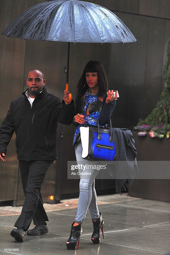 Eve is seen in SoHo on November 27, 2012 in New York City.