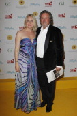 Eve Maren Buechner and Helmut Sendlmeier attend the dreamball 2011 charity gala at the RitzCarlton on September 16 2011 in Berlin Germany
