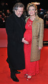 Eve Maren Buechner and husband Helmut Sendelmeier attend the 'Tuan Yuan' Premiere during day one of the 60th Berlin International Film Festival at...