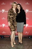 Eve Maren Buechner and tv host Tatjana Ohm attend the 'Liberty Award 2011' at Hotel Hyatt on March 17 2011 in Berlin Germany