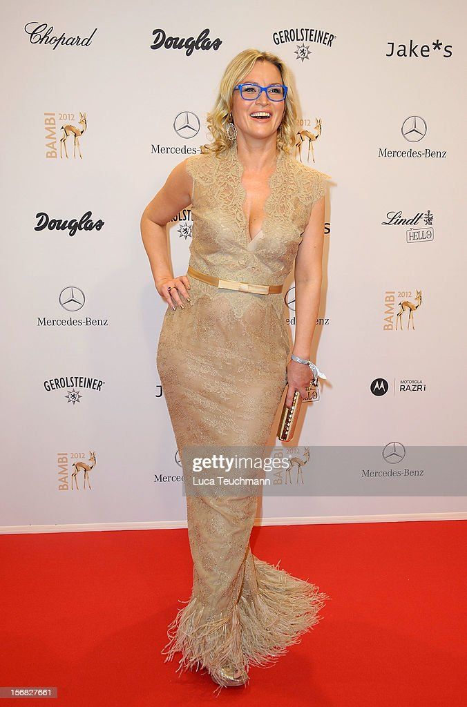 Eve Maren Buechner attends 'BAMBI Awards 2012' at the Stadthalle Duesseldorf on November 22, 2012 in Duesseldorf, Germany.