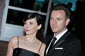 Eve Mavrakis and Ewan McGregor at Winners Dinner Arrivals during the 65th Cannes International Film Festival