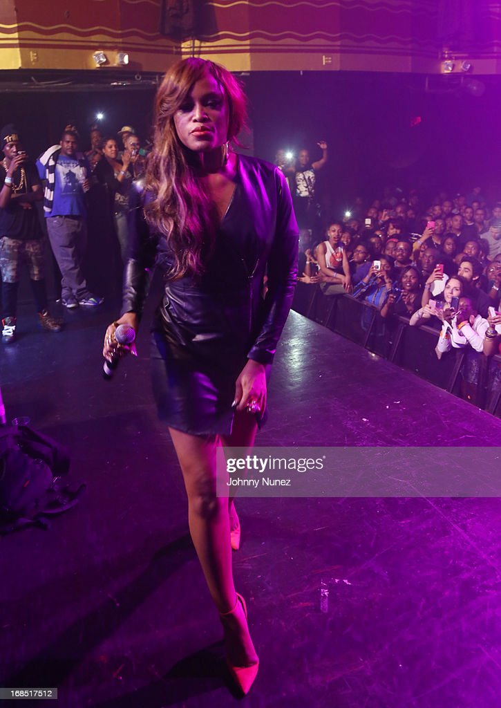 Eve performs at Girls Night Out Hosted by Eve at Webster Hall on May 9, 2013 in New York City.