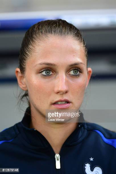 Eve Perisset of France during the women's international friendly match between France and Norway on July 11 2017 in Sedan France