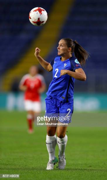Eve Perisset of France runs with the ball during the Group C match between Switzerland and France during the UEFA Women's Euro 2017 at Rat Verlegh...