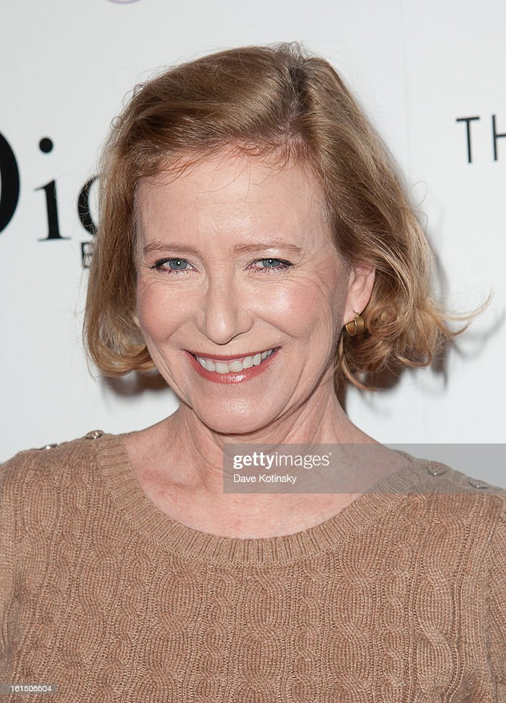 Eve Plumb attends The Cinema Society And Dior Beauty Presents A Screening Of 'Beautiful Creatures' at Tribeca Cinemas on February 11, 2013 in New York City.