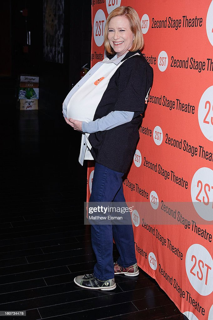 Eve Plumb attends the Second Stage Theatre 2013 Bowling Classic at Lucky Strike on February 4, 2013 in New York City.