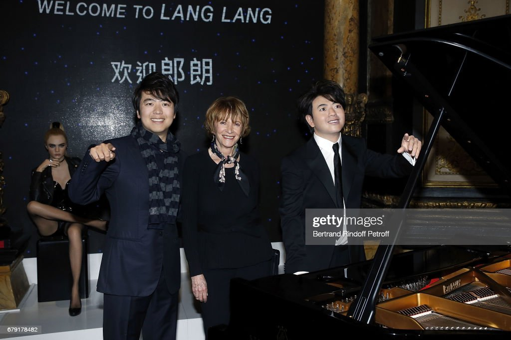 Musician Lang Lang  Wax Work Unveiling At Musee Grevin