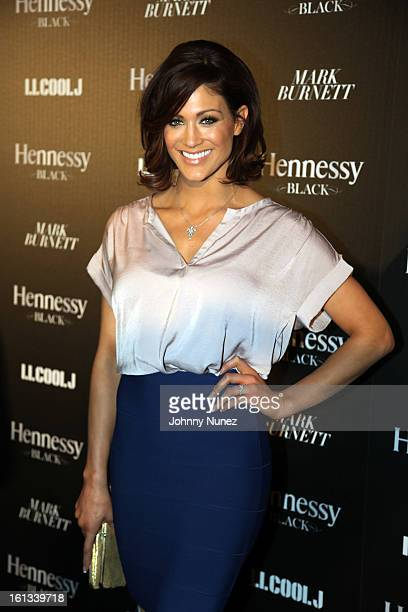Eve Torres attends the Hennessy reception toasting achievements in music hosted by LL Cool J And Mark Burnett at The Bazaar at the SLS Hotel Beverly...