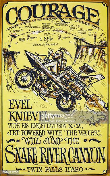 Evel Knievel Snake River Canyon Evel Knievel born Robert Craig Knievel was an American daredevil entertainer and internatiional icon