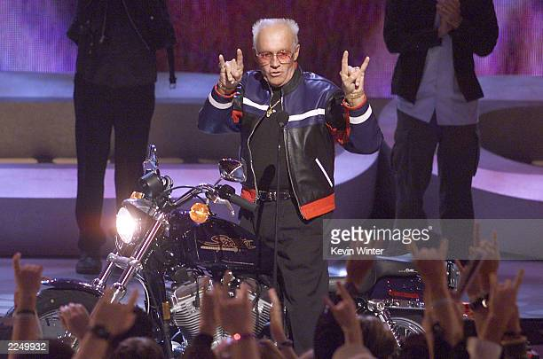 Evel Knievel won a Pioneer Award at the 'ESPN Action Sports and Music Awards' at the Universal Amphitheatre in Los Angeles Ca 4/7/01 Photo by Kevin...