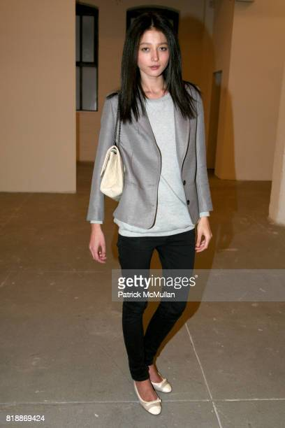 Evelina attends 'The Transformation of ENRIQUE MIRON as El Diablo' by PAUL ROWLAND at 548 W 22nd St on April 29 2010 in New York