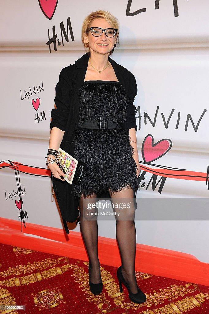 Lanvin for H&M Haute Couture Show - Red Carpet