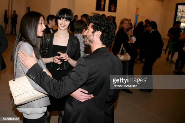 Evelina Ranya and attend 'The Transformation of ENRIQUE MIRON as El Diablo' by PAUL ROWLAND at 548 W 22nd St on April 29 2010 in New York