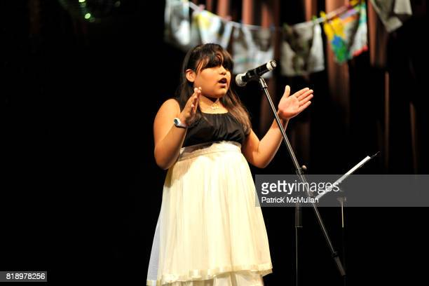 Evelyn attends The East Harlem School presents 2010 Spring Poetry Slam at Highline Ballroom on May 4 2010 in New York City