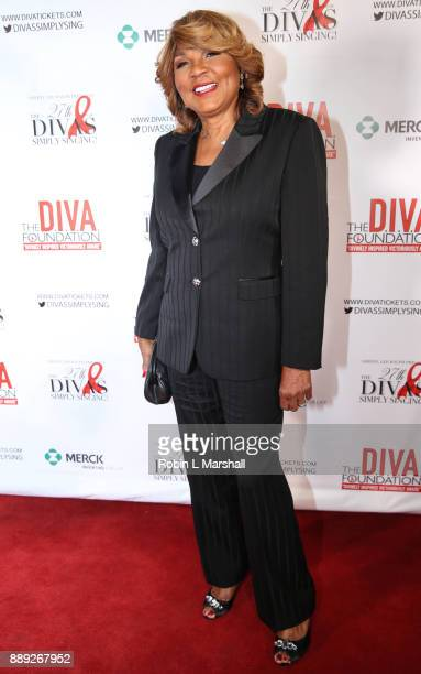 Evelyn Braxton attends Sheryl Lee Ralph's 27th Annual DIVAS Simply Singing event at Taglyan Cultural Complex on December 9 2017 in Hollywood...