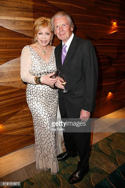 Evelyn Bresser and Klaus Bresser attend the Victress Awards Gala on 2016 in Berlin Germany