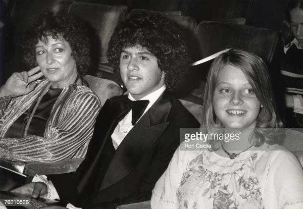 Evelyn Foster Jodie Foster and guest