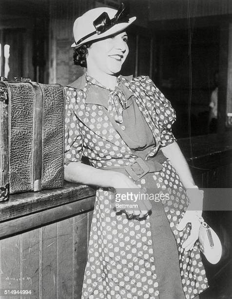Evelyn Frechette the dark haired half Indian companion who was left behind when John Dillinger machine gunned his way to freedom and eventual death...