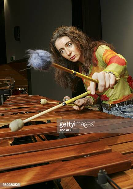 Evelyn Glennie percussion master who is giving masterclasses this week at the VCA 8 March 2006 THE AGE NEWS Picture by EDDIE JIM