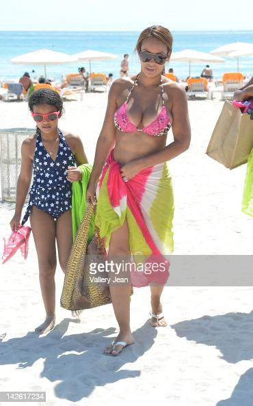 Evelyn Lozada is sighted on April 9 2012 in Miami Florida