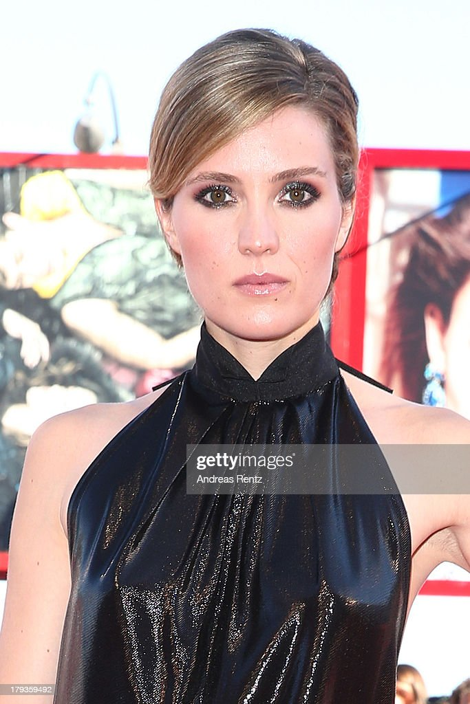 Evelyne Brochu attends the 'Tom At The Farm' Premiere during the 70th Venice International Film Festival at the Palazzo del Cinema on September 2...