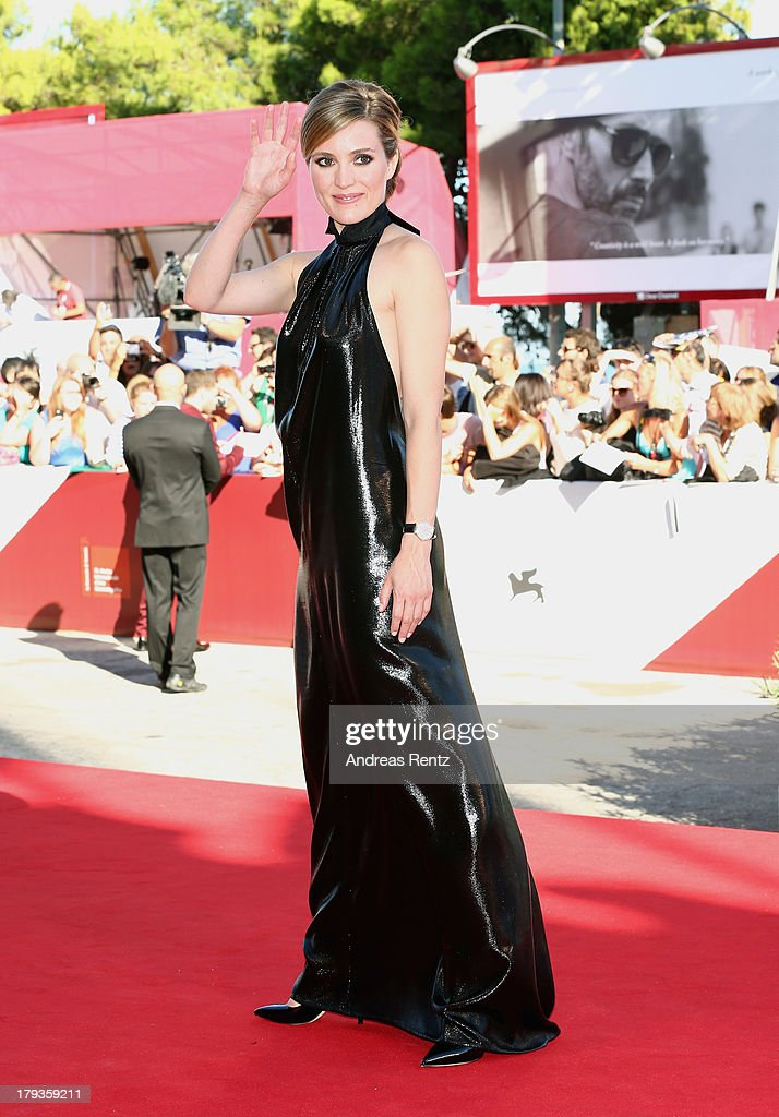 Evelyne Brochu attends 'Tom At The Farm' Premiere during the 70th Venice International Film Festival at the Palazzo del Cinema on September 2 2013 in...