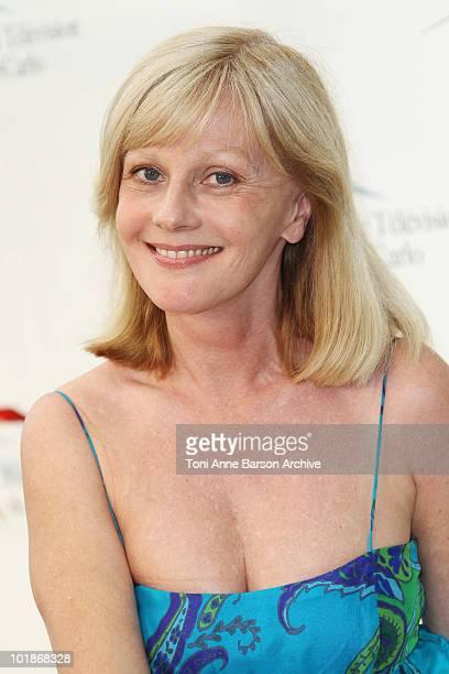 Evelyne Leclercq attends photocall at the Grimaldi Forum on June 7 2010 in MonteCarlo Monaco