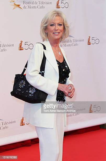 Evelyne Leclercq attends the opening night of the 2010 Monte Carlo Television Festival held at the Grimaldi Forum on June 6 2010 in MonteCarlo Monaco