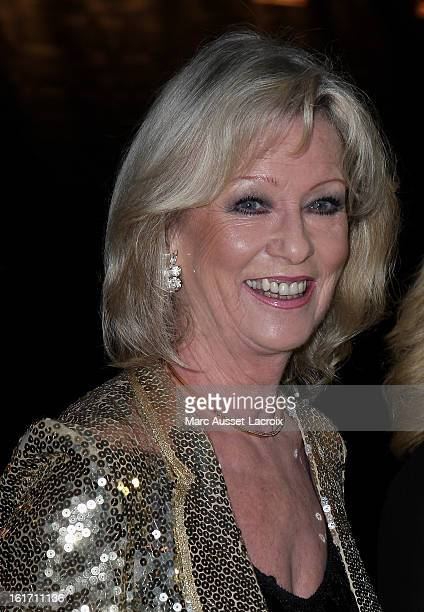 Evelyne Leclercq poses during the Trophee De Paris Awards 2013 Ceremony at Espace Pierre Cardin on February 14 2013 in Paris France